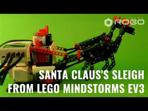 Santa Claus's Sleigh LEGO Mindstorms EV3 with building