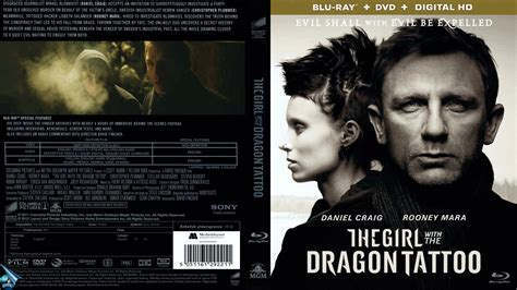 The Girl with the Dragon Tattoo Bluray Cover   Cover