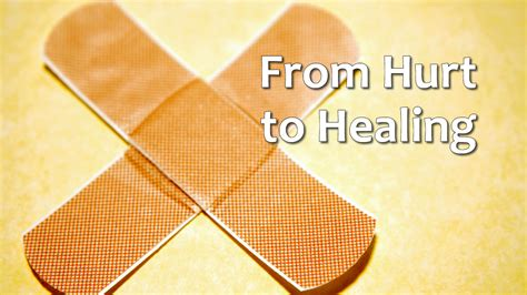 From Hurt to Healing – Nov 9, 2014   Crosspoint Church Online