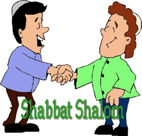 """""""Good Shabbos"""" is what they said"""