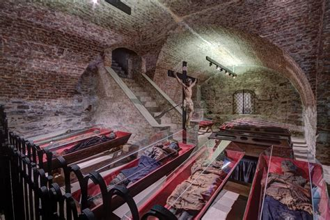 Catacombs Klatovy — Photo gallery — The Catacombs virtual tour