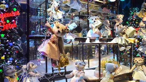 World's Best Department Store Holiday Window Displays
