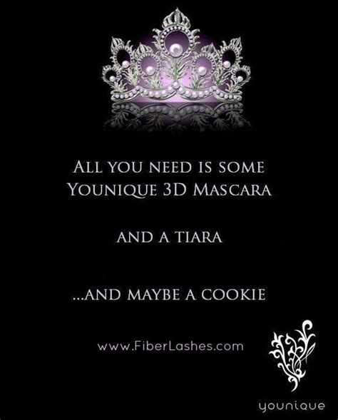 Always wear your invisible #crown - and your Younique 3D #