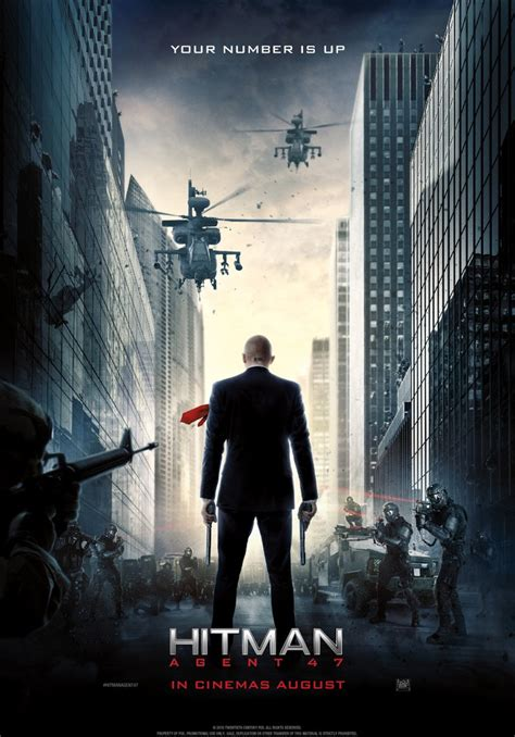 A New Poster For HITMAN: AGENT 47!!