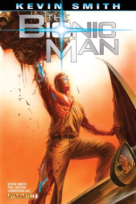 Dynamite® Kevin Smith's The Bionic Man #1