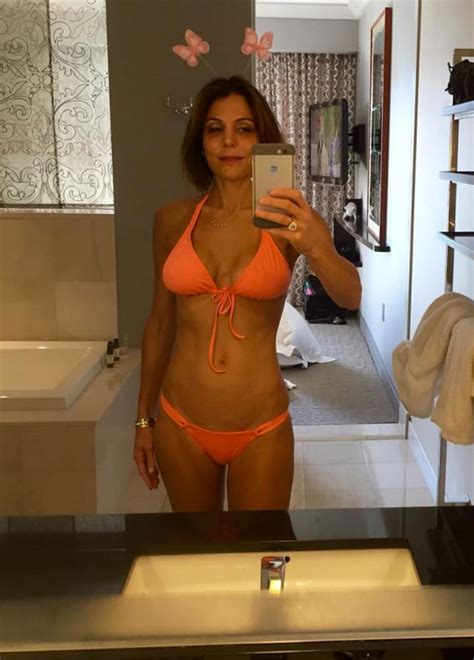 Bethenny Frankel Bikini Pic Reminds Us To Get Off Our