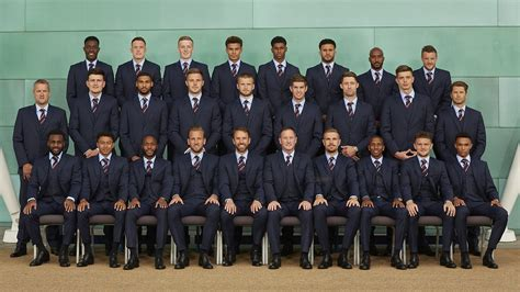 World Cup Snapshot: England Squad Don Their Marks & Sparks