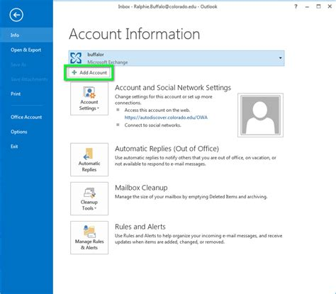 Gmail - Configure Outlook for Windows   Office of