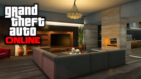 GTA 5 Online - NEW Houses & Apartment Customizations