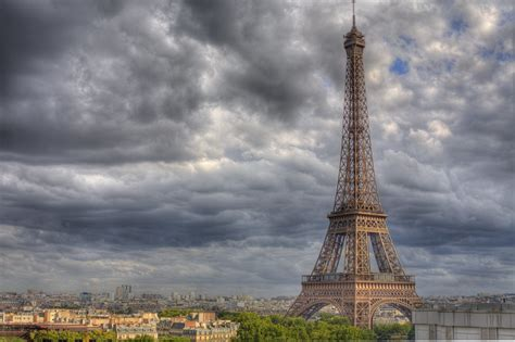 How Tall is the Eiffel Tower, Paris