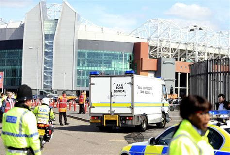 Old Trafford bomb scare: Game called off after suspect