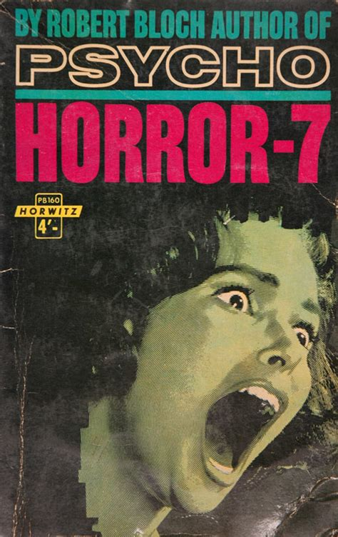 Cabinet 15: Horror, The Pulp Fiction Exhibition