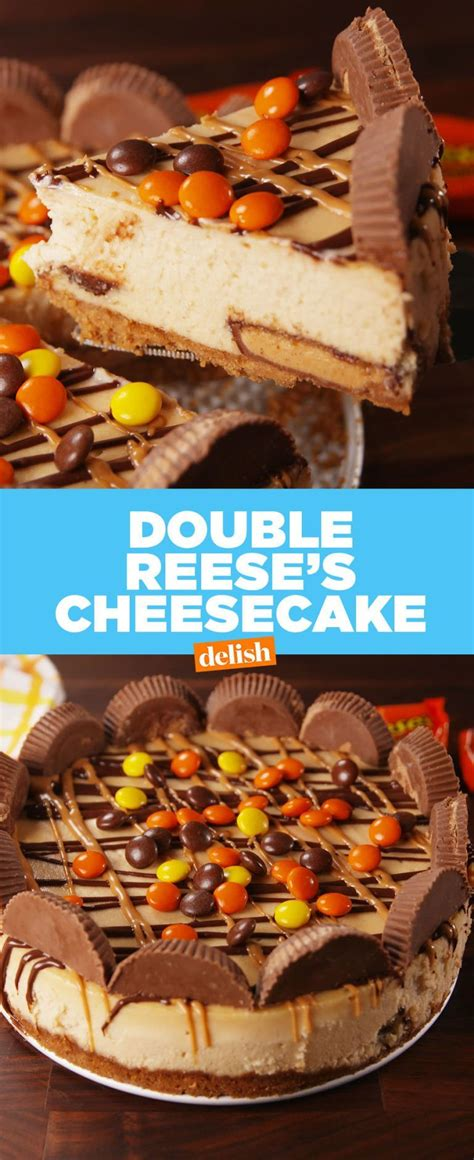 This Double Reese's Cheesecake Will Destroy You