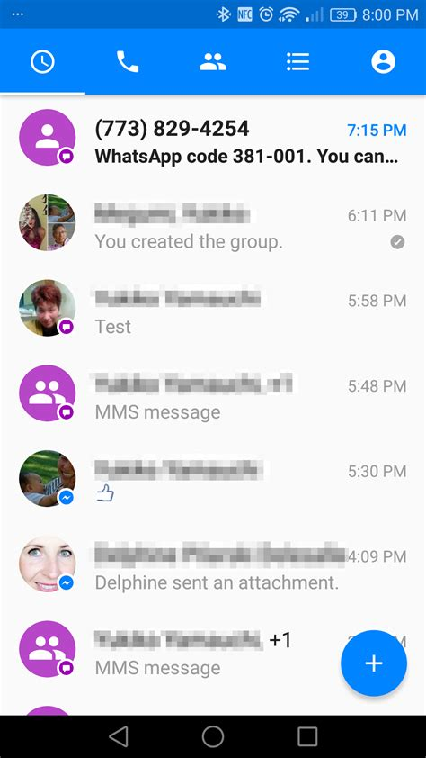 Facebook Adds Voice Calls, Text Messaging To Messenger For