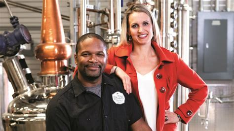 Alum followed his passion to open a craft distillery