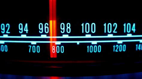 Glowing Vintage Radio Dial 7 by dubassy | VideoHive