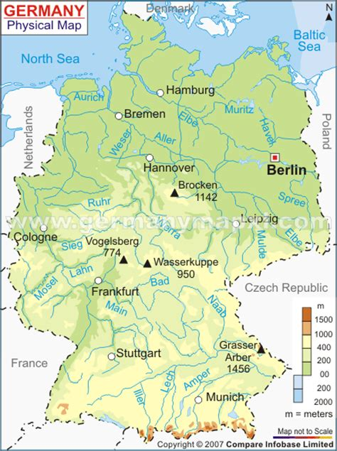 Germany Map and Germany Satellite Image