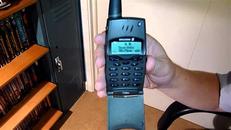 Classic Cell Phone Collection Part 7: Ericsson T28z 1999