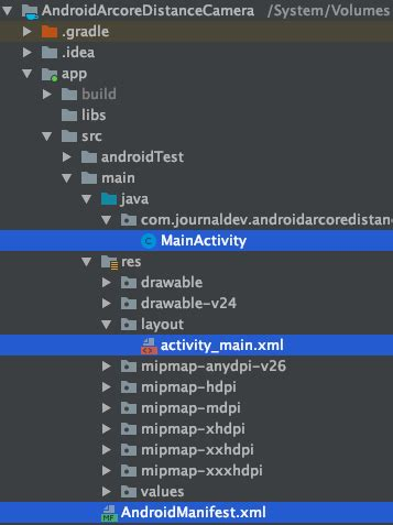 Android ARCore - Distance from Camera - JournalDev