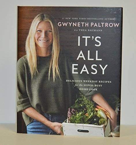 """awesome Gwyneth Paltrow signed """"It's All Easy: Delicious"""