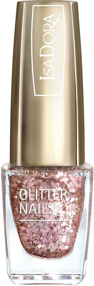 IsaDora Glitter Nails Cosmo Rose | Lyko