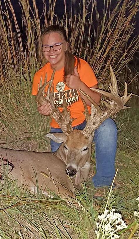 Potential state-record whitetail: A 14-year-old Kansas