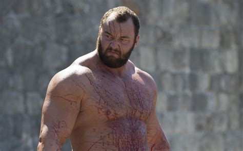 'Game of Thrones' actor who played The Mountain, Hafþór