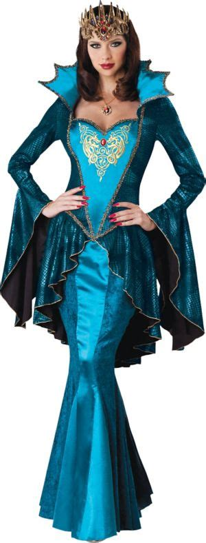 Adult Medieval Queen Costume Deluxe - Party City