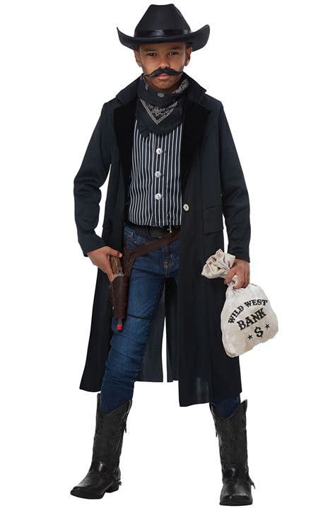 Wild West Sheriff/Outlaw Child Costume - PureCostumes