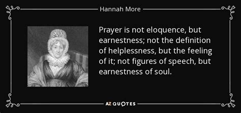 TOP 25 QUOTES BY HANNAH MORE (of 141) | A-Z Quotes