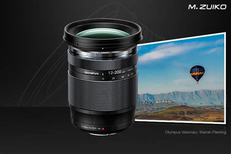 Olympus launches the most powerful zoom lens in the