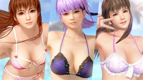Dead or Alive Xtreme 3: Scarlet 'Kasumi, Ayane, and Hitomi